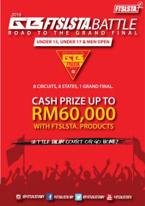 GB Ftslsta Battle Road TO The Grand Final (Sirkit Johor) @ Tebrau Sports & Recreation Center, Ulu Tiram Johor