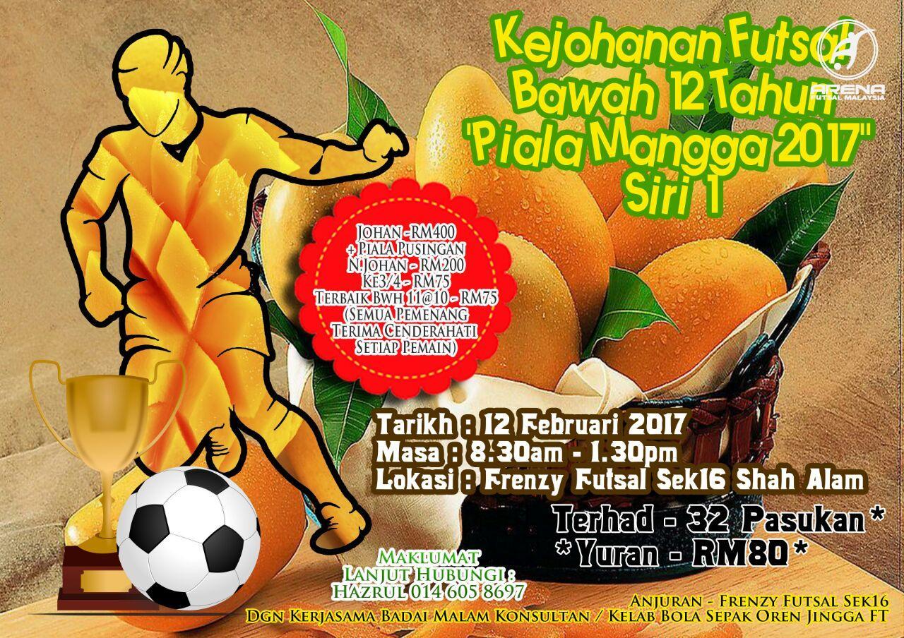 Kejohanan Futsal Bawah 12 Tahun @ Frenzy Futsal Shah Alam