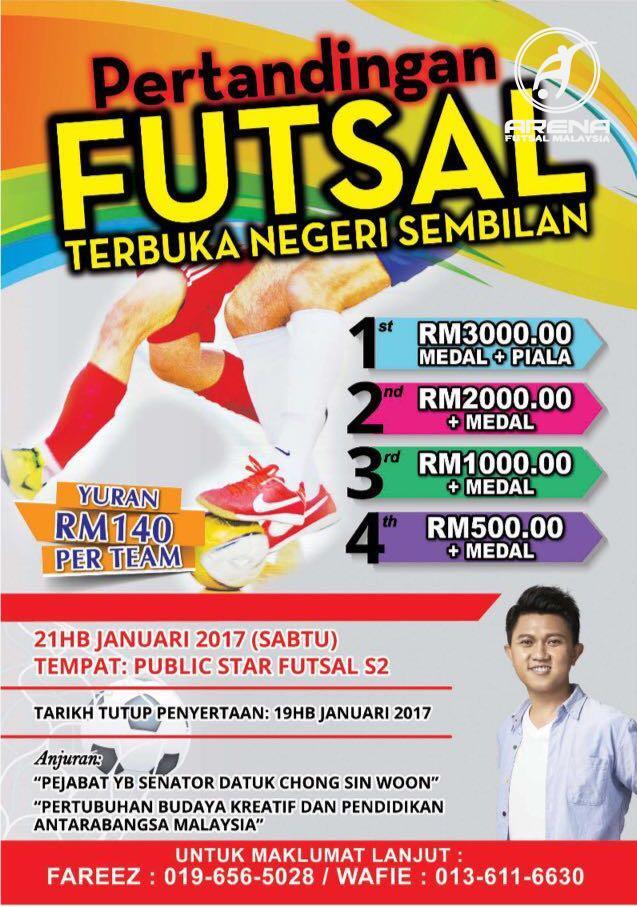 Pertandingan Futsal Terbuka Negeri Sembilan @ Public Star Futsal Seremban 2