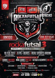 Rockafutsal Tournament @ Real Sports Arena Klang, Selangor
