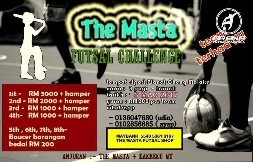 The Masta Futsal Challenge @ Sport Planet Cheng Melaka