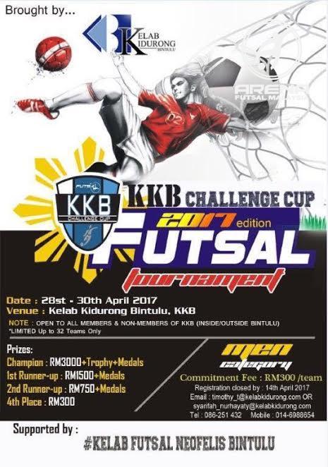 KKB Challenge Cup @ Kelab Kidurong Bintulu, KKB
