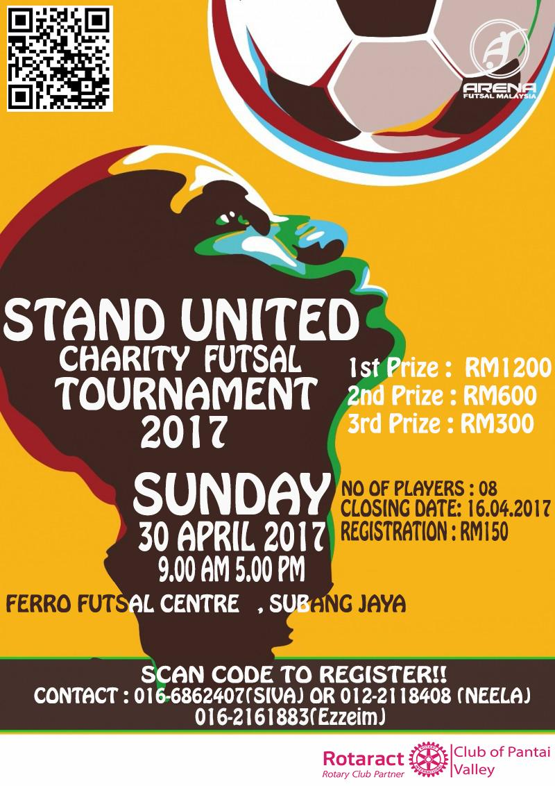 Stand United Charity Futsal Tournament @ Ferro Futsal Centre, Subang Jaya