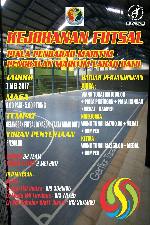 Kejohanan Futsal Piala Pengarah Maritim Pengkalan Maritim Lahad Datu @ Gelanggang Futsal Dynason (Lahad Datu)