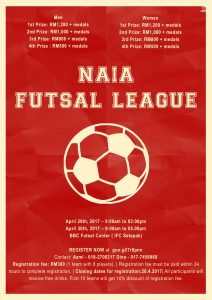 NAIA Futsal League @ BBC Futsal Center (IFC Setapak)