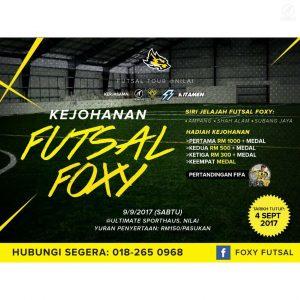 Kejohanan Futsal Foxy @ Ultimate Sporthaus, Nilai