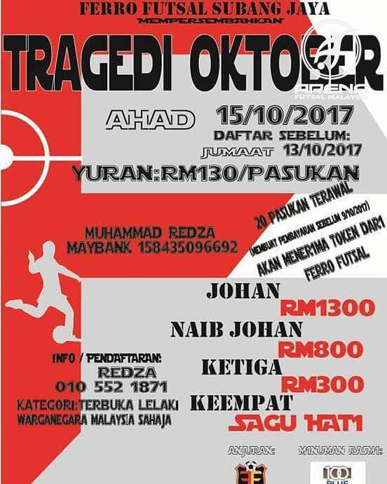 Tragedi Oktober @ Ferro Futsal Subang Jaya