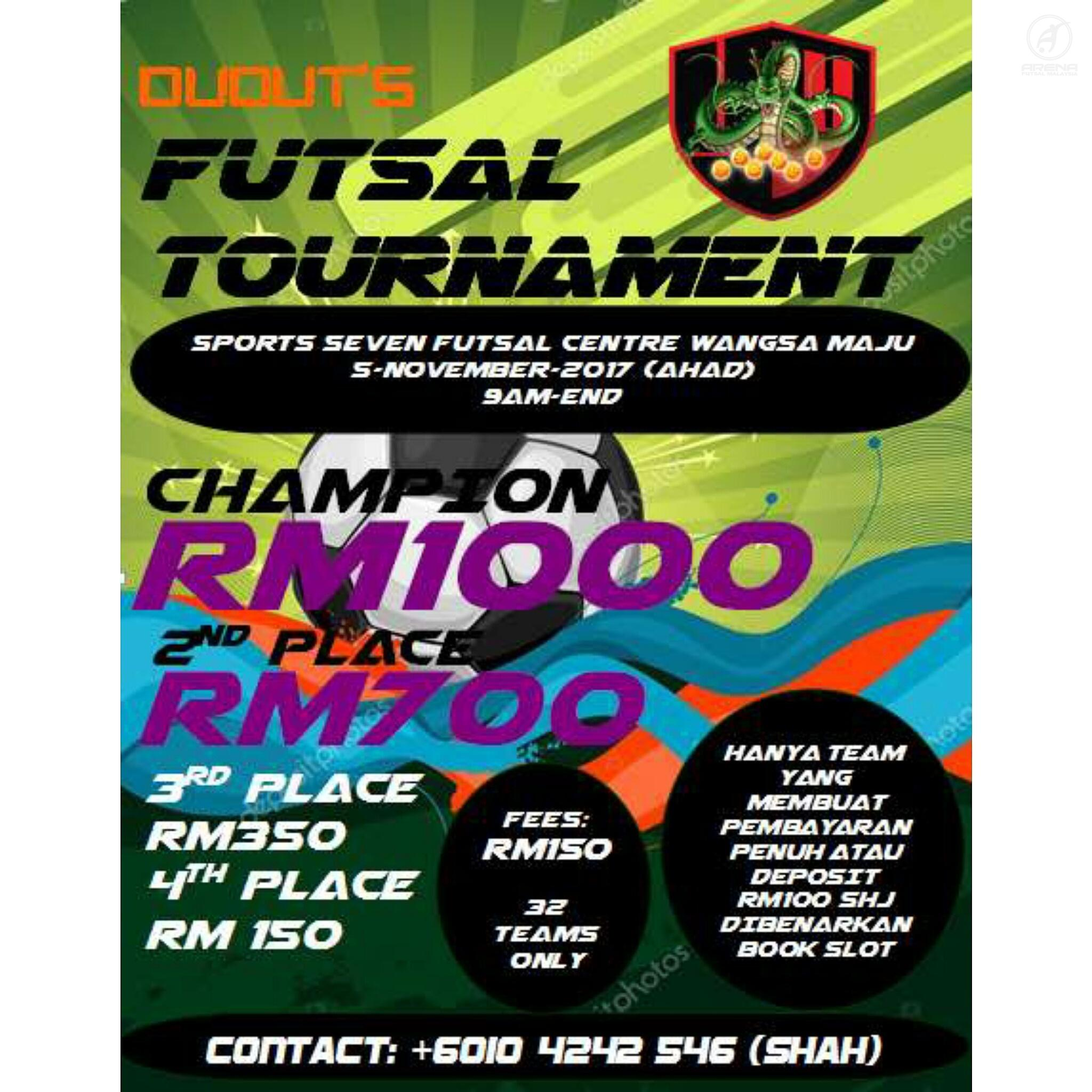 Duduts Futsal Tournament @ Sports 7 Futsal Wangsa Maju
