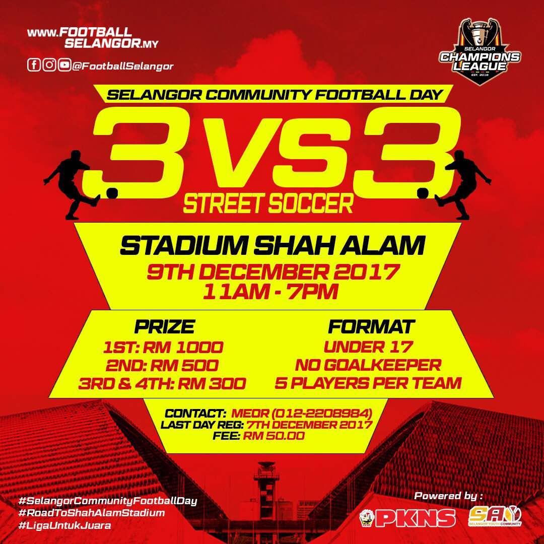 Selangor Community Football Day @ Stadium Shah Alam