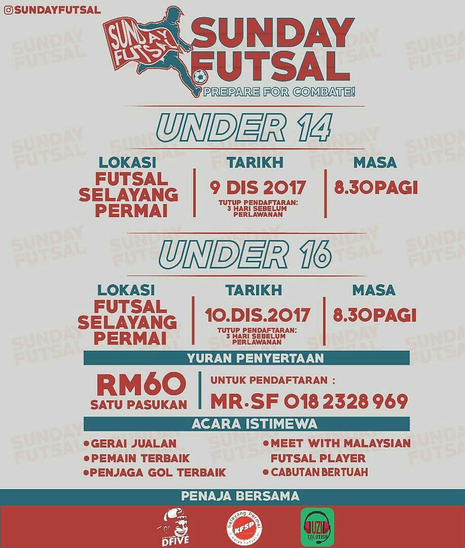 Sunday Futsal @ Futsal Selayang Permai
