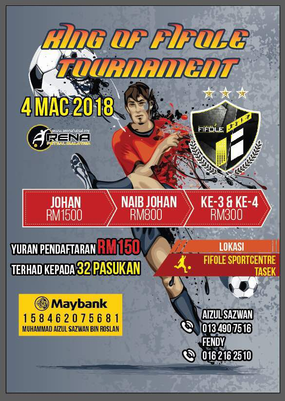 King Of Fifole Tournament @ Fifole Sport Centre Tasik