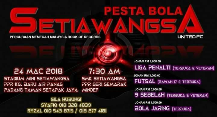 Pesta Bola Setiawangsa United FC