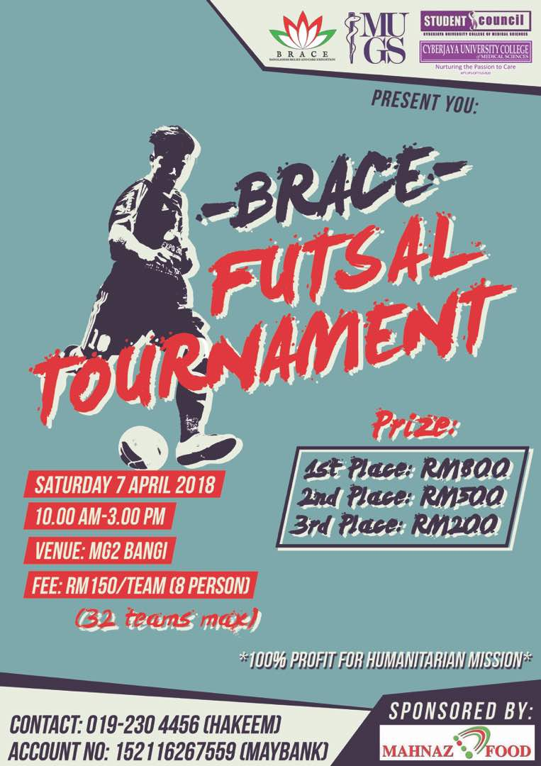 Brace Futsal Tournament @ MG2 Bangi