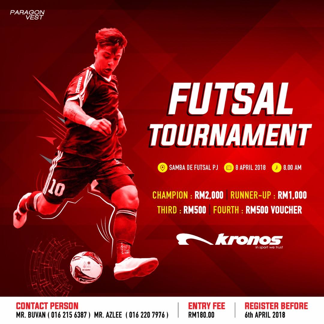 Kronos Futsal Tournament @ Samba De Futsal, PJ