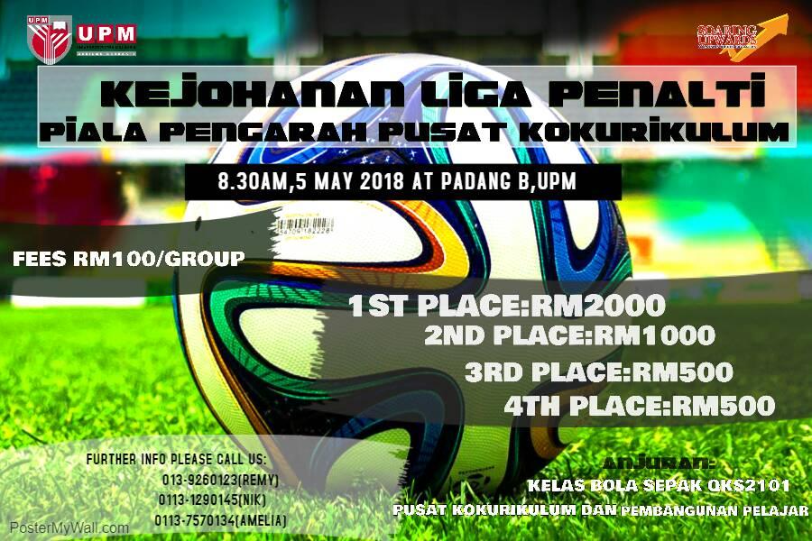 Kejohanan Liga Penalti Piala Pengarah Pusat Kokurikulum @ Padang B UPM