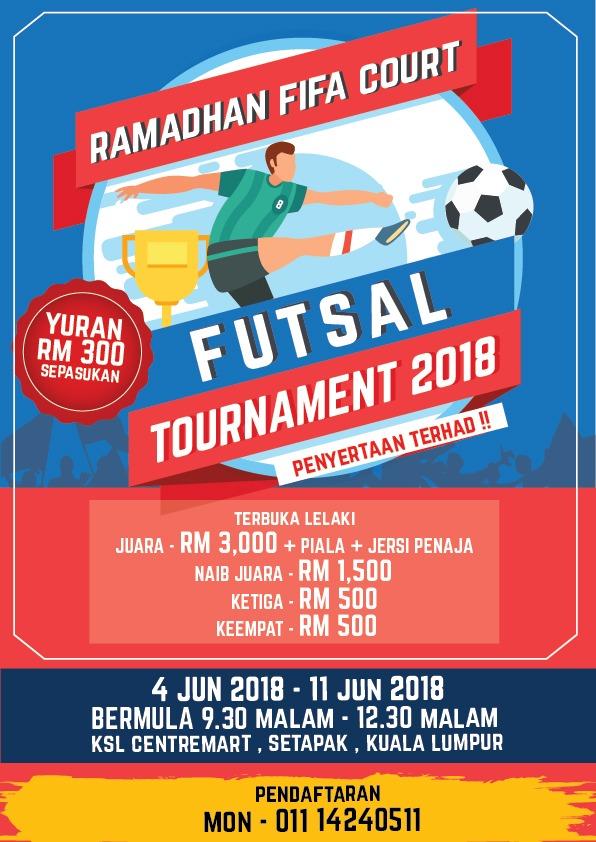 Ramadhan FIFA Court @ KSL Centremart, Setapak Kuala Lumpur