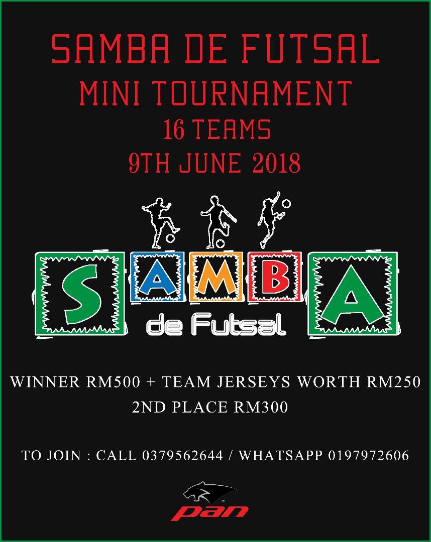 Samba De Futsal Mini Tournament @ Samba De Futsal Petaling Jaya
