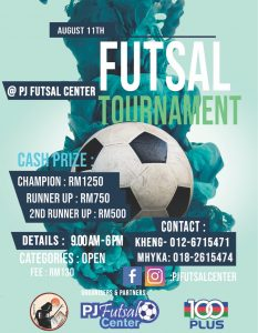 Futsal Tournament @ PJ Futsal Center