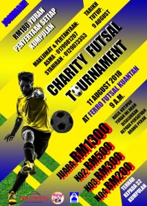 Charity Futsal Tournament @ Ferro Futsal Kuantan