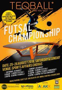 Teqball Futsal Championship @ Sports Affairs Cheras