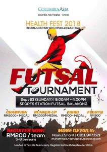 Health Fest 2018 @ Sports Station Futsal, Balakong
