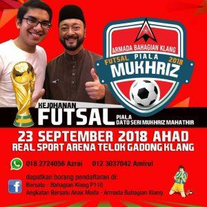 Kejohanan Piala Dato Seri Mukhriz Mahathir @ Real Sports Arena, Klang