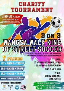 Charity Tournament @ Wangsa Walk Mall (Car Park B)