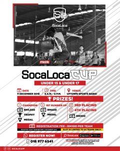 Soca Loca Cup U15 & U17 @ Uptown Sports Bangi