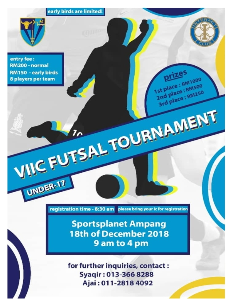 VIIC Futsal Tournament U17 @ Sportsplanet Ampang