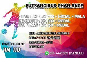 Futsalicious Challenge @ Public Star Seremban 2