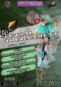 Soul Futsal Tournament @ Kompleks Futsal 1 Malaysia Presint 18 Putrajaya