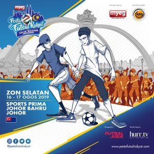 PESTA FUTSAL RAKYAT PIALA TUN DR MAHATHIR MOHAMAD 2019 (ZON SELATAN) @ JB Sport Prima, Johor