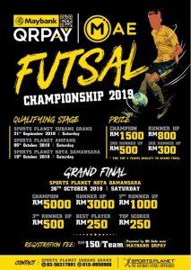Futsal Championship 2019 @ Sports Planet Subang Grand