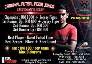 Carnival Futsal Figos Johor Ultimate Cup @ Everyday Sports Futsal Court, Taman Anggerik, Kempas