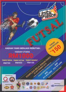Unity Fiesta Futsal @ Kompleks Belia Sukan Paroi