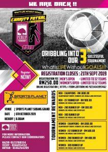 Charity Futsal Tournament @ Sports Planet Subang Grand